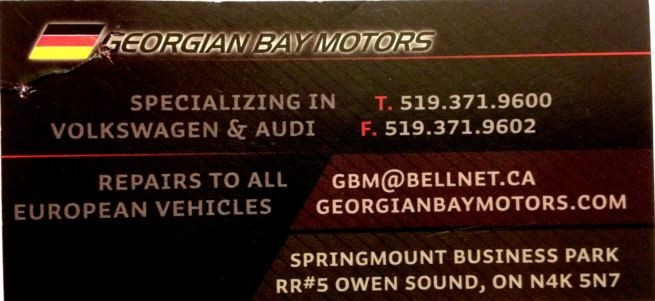 Georgian Bay Motors