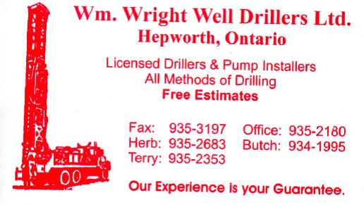 Wm. Wright Well Drillers Ltd.