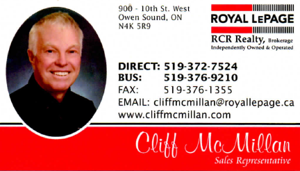 Cliff McMillan Royal LePage